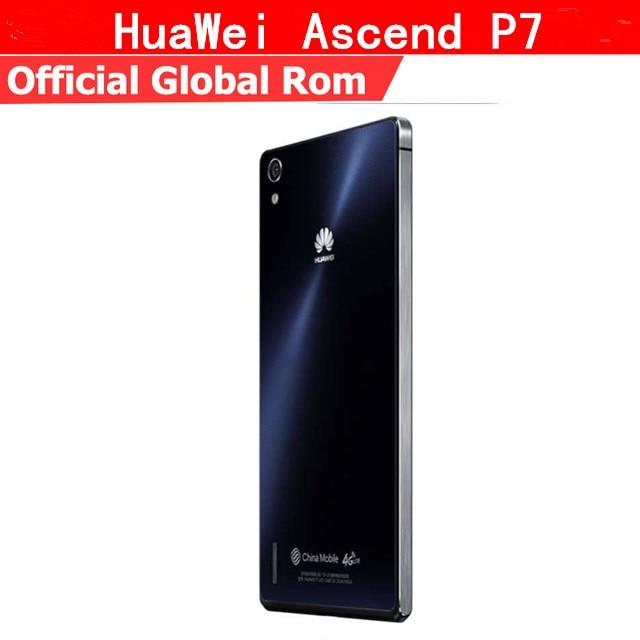 Global rom Huawei Ascend P7 4G лте 5 дюймов KIRIN 910t Quad Core Android 4,4 ips 1920X1080 2 ГБ Оперативная память 16 ГБ Встроенная память 13MP смартфон