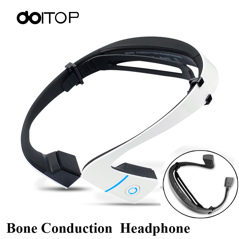 DOITOP Smart LF-18 Wireless Stereo Headset BT 4.1 Waterproof Neck-strap Headphone Bone Conduction NFC Earphone Hands-free 40 цена и фото