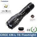 Большая Акция ультра яркий XM-L T6 светодиодный фонарик 5 режимов 4000 люмен масштабируемый светодиодный фонарик для AAA или 18650