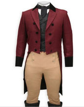 Custom Made to Measure BURGUNDY TAILCOATS FOR MEN,,BESPOKE WINE RED long tail tuxedo tailcoat,TAILORED MEN SUITS(China)
