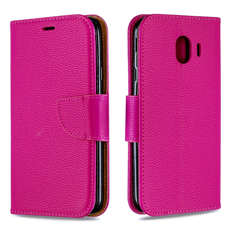 Flip For Samsung Galaxy J4 2018 Cover Flip Case For Etui Samsung J4 2018 Leather Wallet Case For Coque Samsung J4 2018 Book Case
