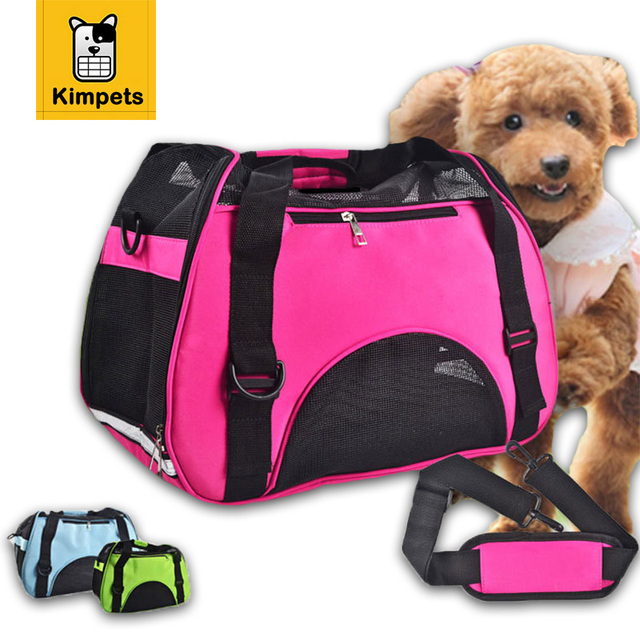 Breathable Fashion Dog Bag Carring Bags For Dogs Carrier Travel Pet Corduroy Colorful