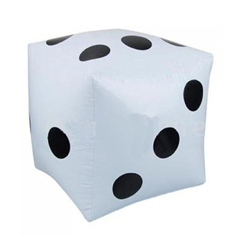 Hot favor parties Toy pool large inflatable dice