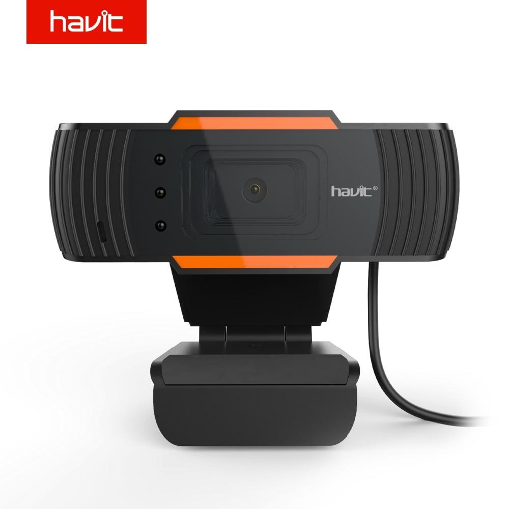 HAVIT Высокое качество HD USB Веб-камеры черный ПК веб-Камера для настольного компьютера ноутбука тв-камеры hv-n5086