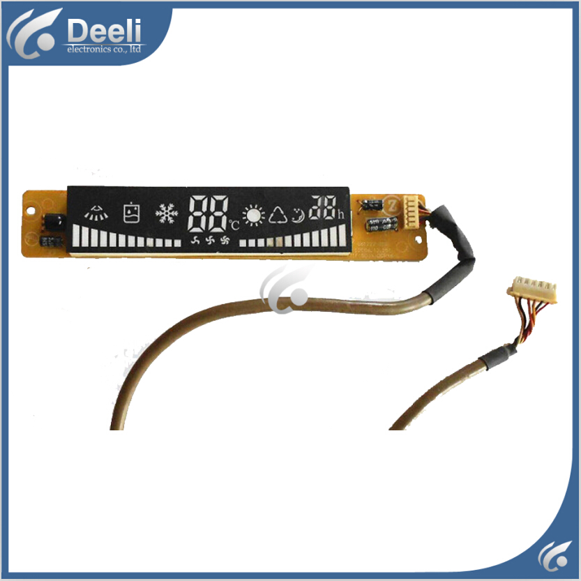95% new for TCL Air conditioning display board remote control receiver board plate G61222-01G J1F(BOJX)DCPX6-L