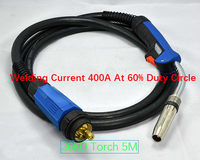 Whosale Original High Quality Binzel 36KD Mig Torch MIG/MAG CO2 welding torch 5M 50CM2 thick Cable with Euro Connector free ship