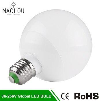 21fc7ebfc30 Bombilla LED 220 V 7 W 12 W lámpara Global poderoso E27 Bombillas LED  blanco cálido