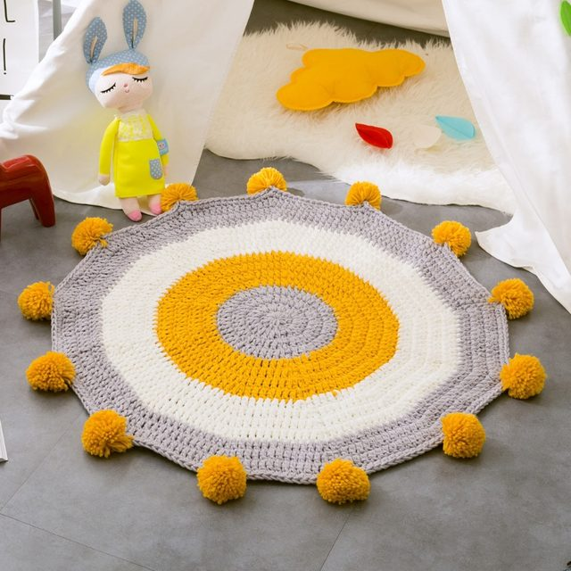 Tienda Online Tejido a mano animales esteras embroma la alfombra ...