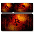 Rubber Smooth Surface Gamers Large Size Gaming Mouse Pad Keyboard MIC Mat WORLD