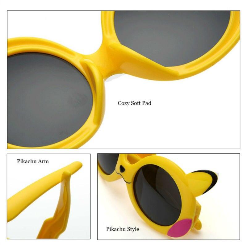Niñas Dibujos Pokemon Pikachu 120mm Niños Gafas Sol Animados De 0wnNk8OXP