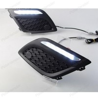 Daytiime running lights car styling for V/olvo XC60 2009 2013 drl led auto parts