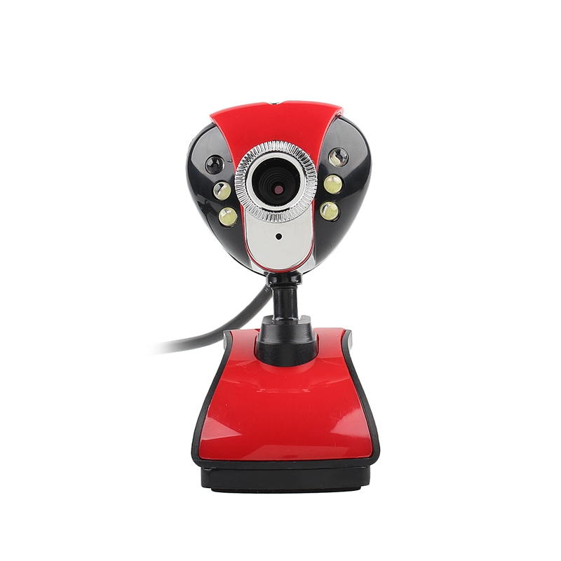 1 Stücke Usb2.0/1,1 Hd 50 Mega 360 Grad Dreh Kamera Video 6 Led Nachtsicht Mikrofon Webcam Kamera Web Cam Für Pc Laptop Mit Traditionellen Methoden