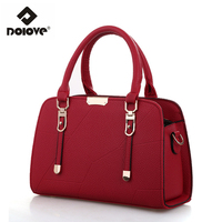 DOLOVE Women Handbag 2017 New Women Bags Sweet Fashion Embossed Shoulder Diagonal Messenger Bag Factory Direct