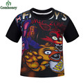 Five Night At Freddy T-shirt Tops Tees Kids T-shirts For Boys Girls Clothes Vetement Garcon Cartoon Children Summer Clothing