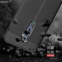 For Cover Oppo Reno 10x zoom Case Shockproof Soft Leather Rubber Silicone Shell Bumper Phone Case for Oppo Reno 10x zoom Reno Z цена 2017