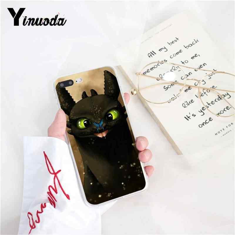 Yinuoda Беззубик Как приручить дракона клиента высокого качества чехол для телефона iPhone8 7 6 S Plus X XS MAX 5 5S SE XR 10 Чехол