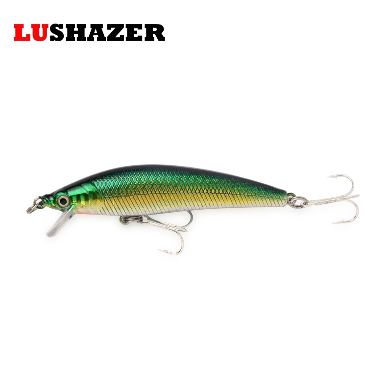 LUSHAZER crankbait 12g 9.5cm minnow lure angeln wobbler crankbait fishing lures iscas artificiais fishing carp hard baits fish lushazer fishing lure minnow bait 18g hard lures carp fishing iscas artificiais 2016 wobbler crankbait cheap sea fishing tackle