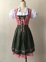 2017 New Women Sexy Maid Beer Costume German Girl Bavarian Oktoberfest Festival Fancy Dress Cosplay Clothing Halloween Costume