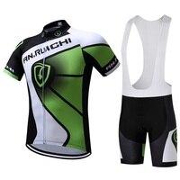 2017 mùa hè màu đen và màu xanh lá cây thể thao xe đạp mặc/bán buôn chống uv xe/nhanh khô thể thao cao su xe đạp mat.