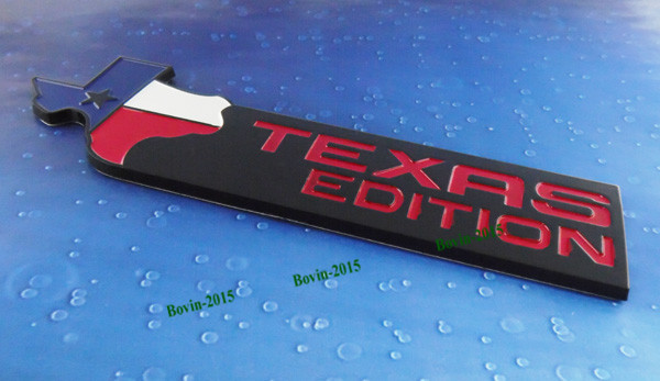 Авто Черный Техас издание на f150 f250 также f350 F450 F550 экспедиции эмблема значок стикер