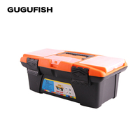 GUGUFISH High Capacity Fishing Tool Box 335 190 130mm Double Sided High Strength Visible Easy To