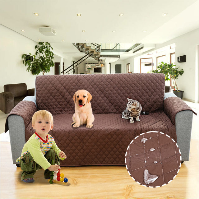 Water Resistant Sofa Cover Sofa Cushion Protection Cover Chair Removable  Towel Armrest Couch Mats Slipcovers Couch Pets Kids Mat