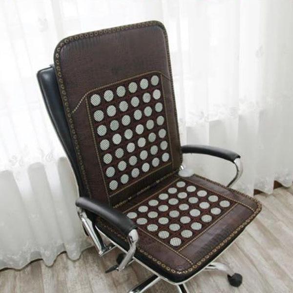 2016 Best Sale in Thailand Jade Heated Cushion Sofa Cushion Jade Health Care Cushion Germanium Stone Sofa Cushion Heat Seat Pad administrative shortfalls in health care management in uganda