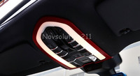Red Front Reading Light Cover Trim For Porsche Panamera 970 2010 2015