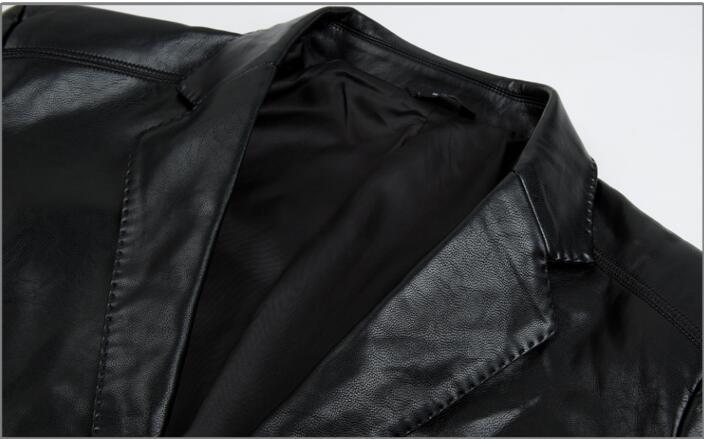En Hommes 4xl Jeune M Plus Black Cuir Costumes Chanteur coffee ~ Nouveau Taille De dark Vêtements blue Beau La Veste Red Personnalité 2018 CwC6qI