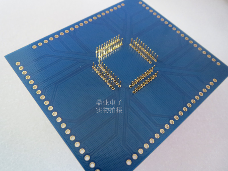 Image 4 - QFP80 TQFP80 QFP11T080 005 Burn in Socket gold plating IC testing QFP80 0.65mm Pitch 12*12mm+14*14mm seat Test Socket test bench-in Semiconductors from Electronic Components & Supplies