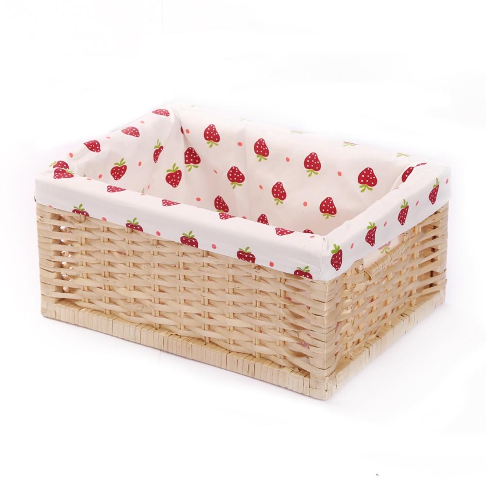Kingwillow Storage basket container Wicker Storage Bins