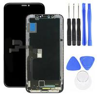 Replacement OLED Display Touch Screen Digitizer for iPhone X with Assembly Tool Replacement OLED Display