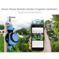 Automatic Intelligent Electronic Water Timer Smart Phone Remote Garden Irrigation Controller Watering System Solenoid Valve Hose|Garden Water Timers| |  -