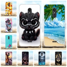 For Alcatel 3C Back Cover Ultra-thin Soft TPU Silicone For Alcatel 3C Phone Case Scenery Patterned For Alcatel 3C Coque Funda все цены