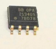 Free shippin 10pcs/lot OPA2134UA <font><b>OPA2134</b></font> <font><b>SOP8</b></font> trademark high-performance audio op amps new original image