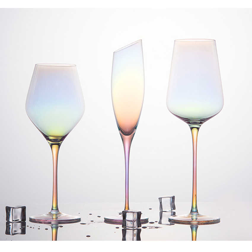 Creative Lead Free Crystal Glass Cup Romantic Rainbow Cup Beer Glass Wine Glass Champagne Glasses Wedding Glasses Home Decor Aliexpress