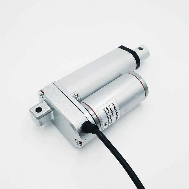 Электрический линейный привод 150 мм 12 В/24 В постоянного тока мотор ход линейный мотор контроллер 100/200/300/500/600/750/800/900/1100/1300/1500N