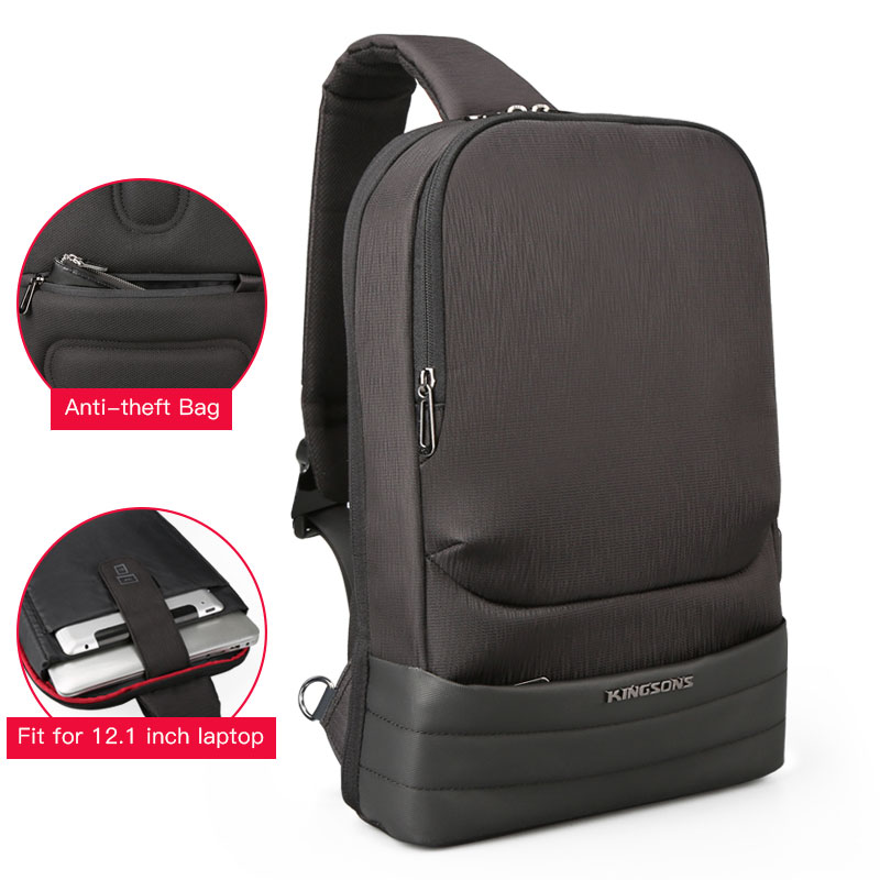12.1 Male Multifunction Crossbody Bags Waterproof USB Charging Chest Pack Fashion Men Messengers Chest Bags Anti theft Pocket12.1 Male Multifunction Crossbody Bags Waterproof USB Charging Chest Pack Fashion Men Messengers Chest Bags Anti theft Pocket