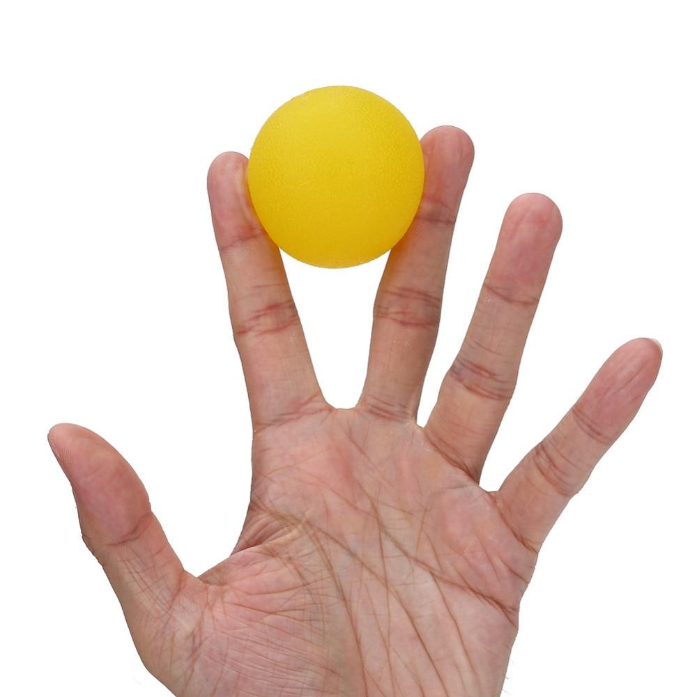 Bola de Entrenamiento de Mano Bola de Silicona de Agarre de Terapia de Mano Bola de Ejercicio para Mano
