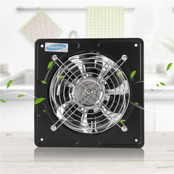 40W 6 Inch Exhaust Fan High Speed Low Noise Toilet Kitchen Bathroom Window Ceiling Wall Glass Small Ventilator Extractor