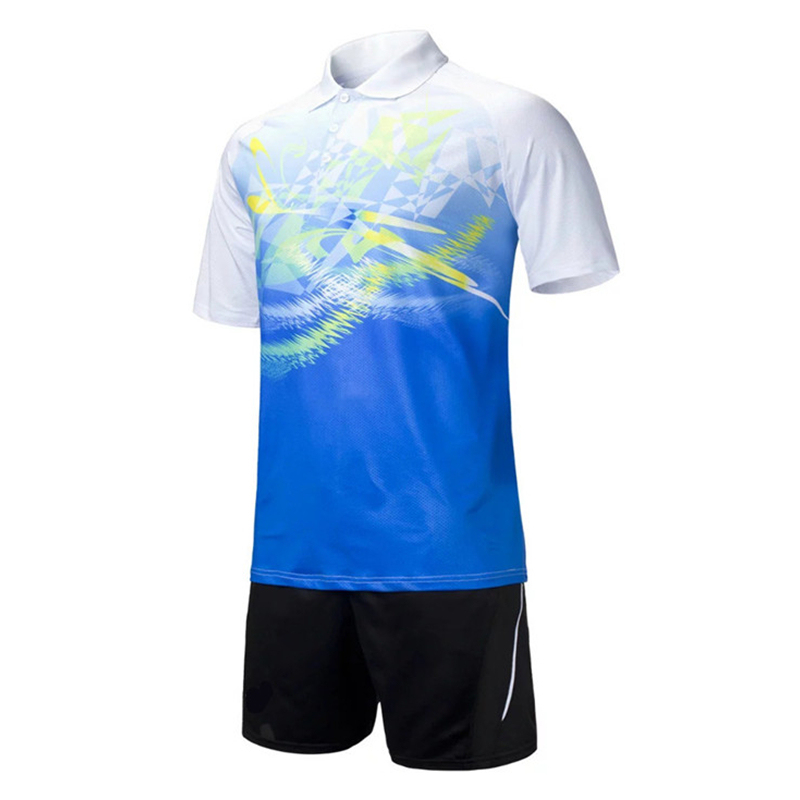 Ademende tafeltenniskleding heren jerseys polo badminton shirt en - Sportkleding en accessoires - Foto 4