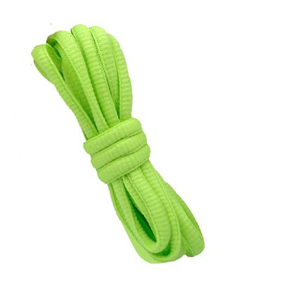 """180 см/7"""" длинный овальный плоской подошве Кружево Шнурки обуви Кружево F. спортивная обувь 24 Цвета для выбора нового - Цвет: No 20 olive green"""