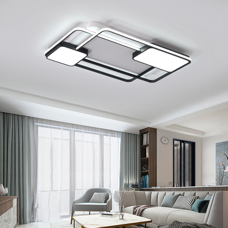 Bedroom Living room Ceiling Lights Lamp Modern lustre de plafond moderne Dimming Acrylic Modern LED Ceiling Bedroom Living room Ceiling Lights Lamp Modern lustre de plafond moderne Dimming Acrylic Modern LED Ceiling lamp for bedroom