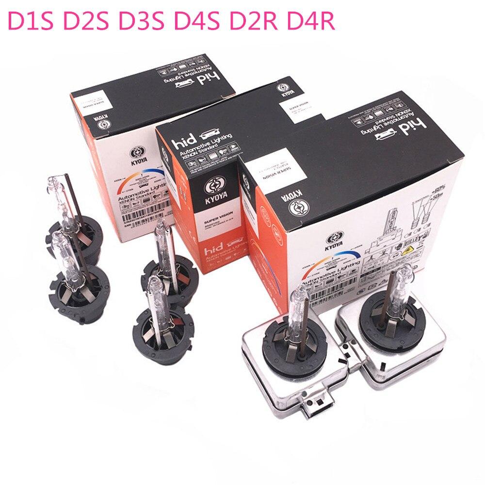 2pcs/lot D1S D2S D3S D4S D2R D4R Car Headlight Kit Bulb 12V 4300K 6000K 8000K For Kia Toyota Honda Hyundai Mercedes-Benz Bmw