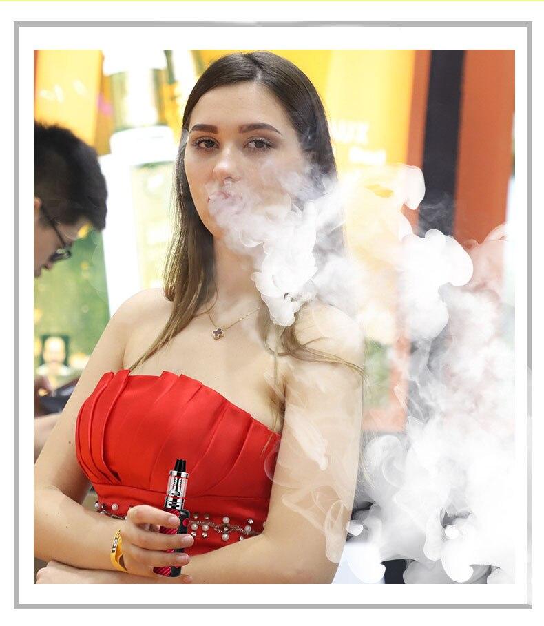 , NEW vape Electronic Cigarette mod Smoke Pen Hookah MINI 80W Starter Kit 510 Metal Body 2.5ml vaporizador e cigarettes Vaper