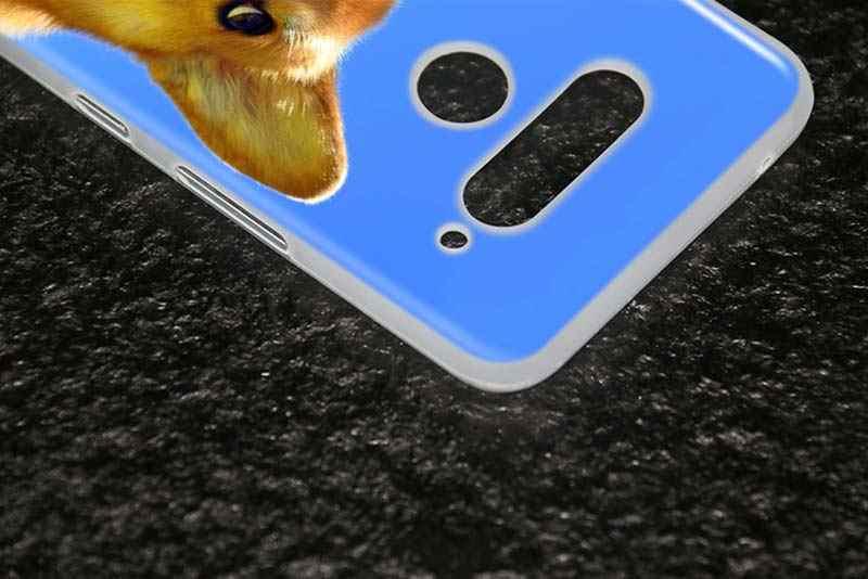 マットシリコーンケースファッション奇抜なハスキー犬 lg K40 Q8 Q7 Q6 V50 (5 グラム) v40 V35 V30 V20 G8 G7 G6 G5 ThinQ 電話シェル