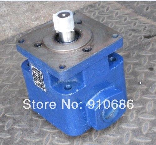 ФОТО Hydraulic pump YB1- 10 Quantitative single league vane pump gear oil pump low pressure pump
