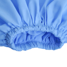 Long Wide Lantern Sleeve Blue Blouse Women Button Down Blouses Shirts Female 2018 Autumn Winter Fashion Tops Turtleneck