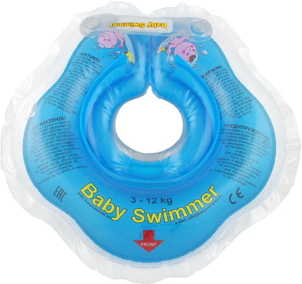 Children's neck swimming ring Baby Swimmer BS02B inflatable children swimming ring seat pool floating boat