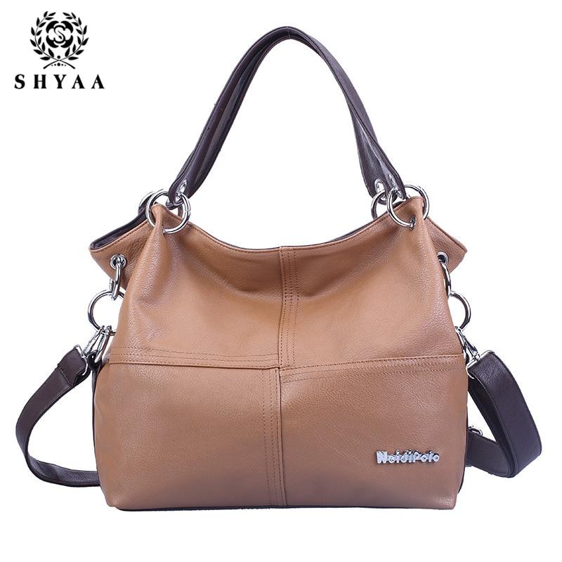 SHYAA 2017 New Fashion Splicing Inclined Women Bag Cross Body Handbag Single Shoulder Bag wWomen Messenger Bags